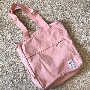 d78f84754b01e Reebok Bags - Reebok - Classic Zippered Tote - Chalk Pink - OS